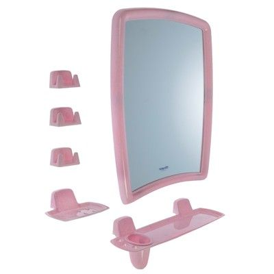 BEROSSI набор для ванной розовый мрамор HB 11502000