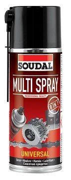 SOUDAL смазка многофункциональная Multi Spray 400 мл