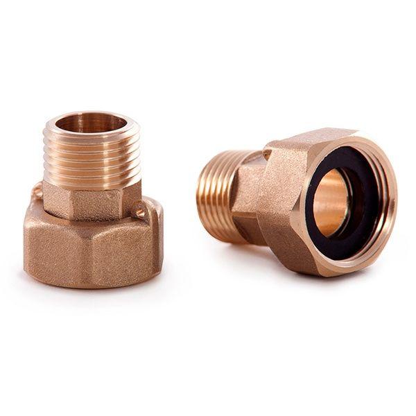 Присоединительный комплект Ду15 для счетчиков с обратным клапаном