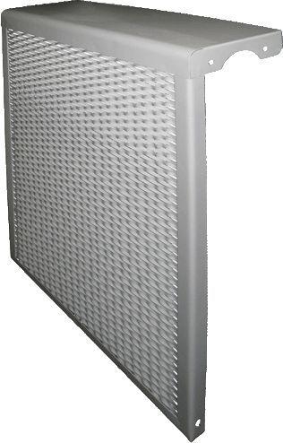 радиаторный экран металлический 4 секции РЭМ-4-кс L39