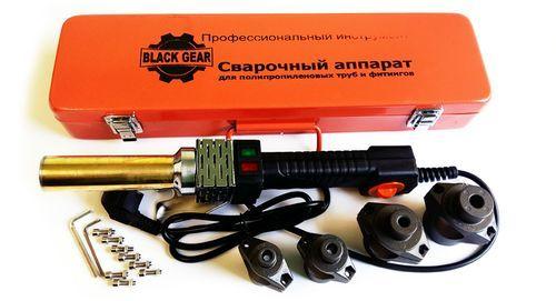 Black Gear комплект сварочного оборудования (16,20,25,32) 1100 Вт арт.99502 (круглый)