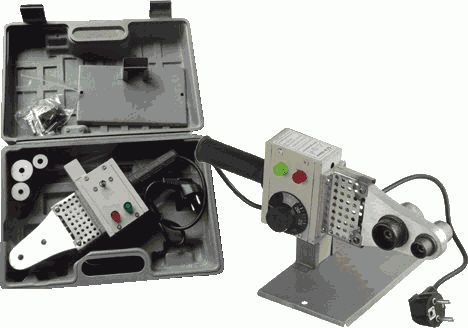 Black Gear комплект сварочного оборудования (20,25,32) 500 Вт арт.99504