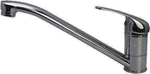 смеситель кухня Ex-Promt Simple картридж 35 мм. поворотный излив арт.Ex 121.3-04