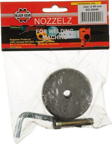 Black Gear сменный нагреватель к сварочному аппарату Ду40 арт.99540