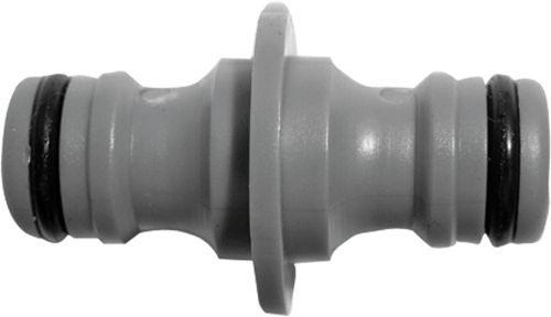 FIT переходник для поливочного шланга с соединителями пластик арт.77421 (быстросъем)