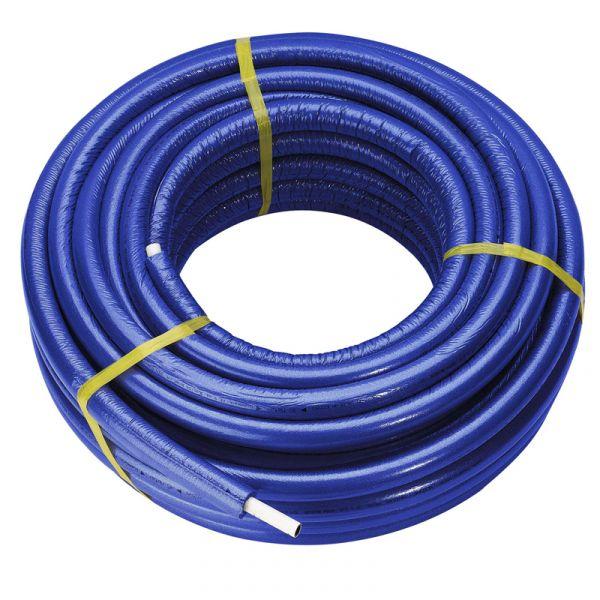 Металлопластиковая труба в изоляции синяя UNIDELTA 26*3.0 (бухта 50м)
