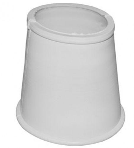 манжета конусная D60x80 белая Полимер арт.1.0023