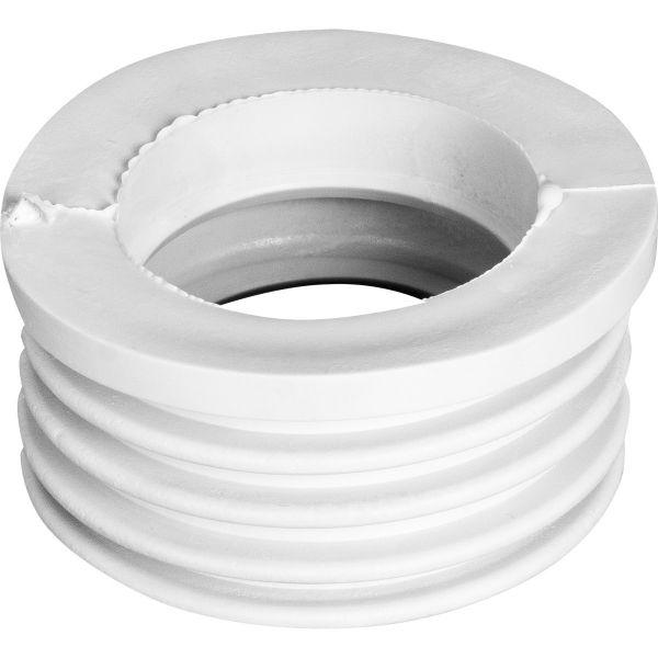 манжета переходная чугун/пластик 73*40 белая Полимер арт.1.0019