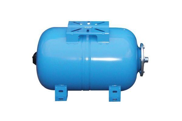 """Бак расширительный мембранный 24л. Wester WАO 24 для водоснабжения горизонтальный, подкл.1"""""""