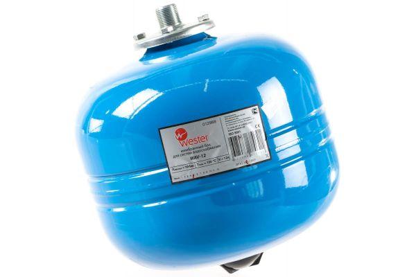 """Бак расширительный мембранный 12л. Wester WАV 12 для водоснабжения, подкл.3/4"""""""
