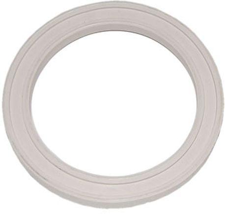 прокладка для смывного бачка 112х85х13 импорт белая Полимер (для унитаза)