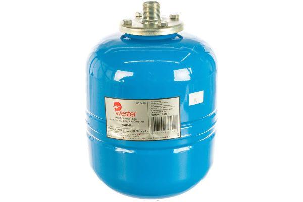 """Бак расширительный мембранный 8л. Wester WАV 8 для водоснабжения, подкл.3/4"""", 8л"""