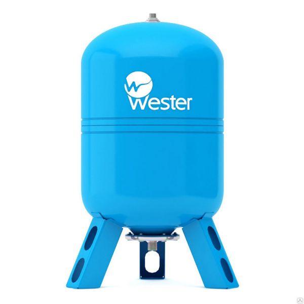 """Бак расширительный мембранный 80л. Wester WАV 80 для водоснабжения, подкл.3/4"""", 80л"""