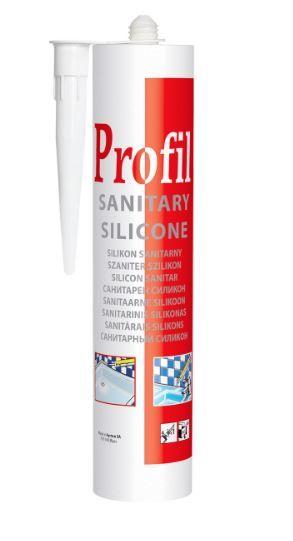 SOUDAL PROFIL герметик санитарный силиконовый бесцветный 270 мл (уп 15шт) арт.124253