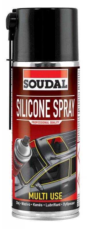 SOUDAL смазка силиконовая Silicone Spray 400 мл арт.134154