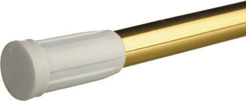 карниз для ванной 110-200 см AL золото д.22/19 мм INTERLOCK MELODIA Mcr-00008