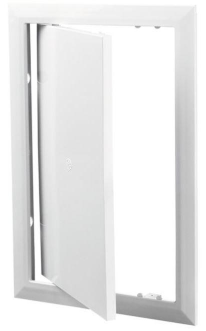 лючок сантехнический пластик белый 250*300 мм