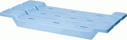сиденье для ванной BEROSSI светло-голубое АС 12608000