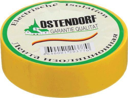"изолента ""Ostendorf"" 19мм*20м желтая"