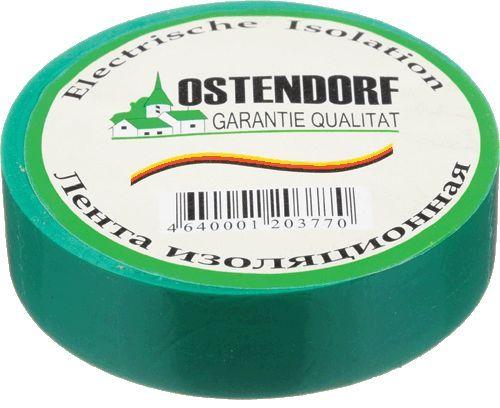 "изолента ""Ostendorf"" 19мм*20м зеленая"