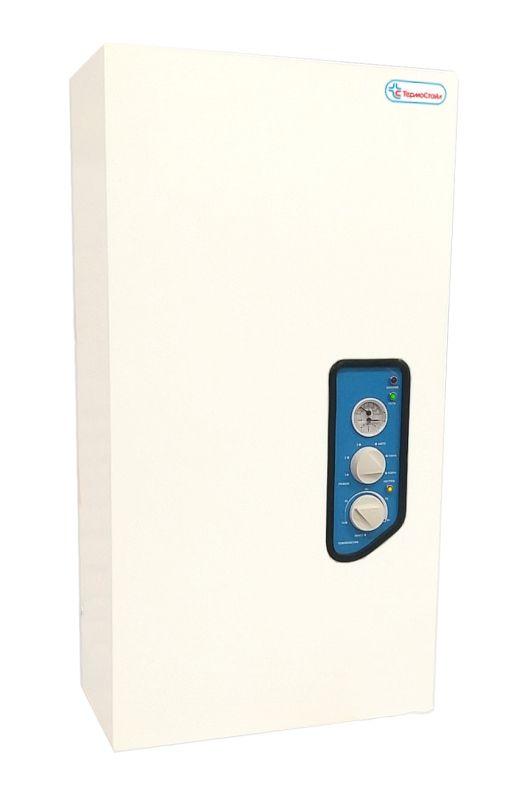 Электрический котел ТермоСтайл ЭПН - 01НМ 7,5 д.20 с насосом, термоманометром, с нижним подв.