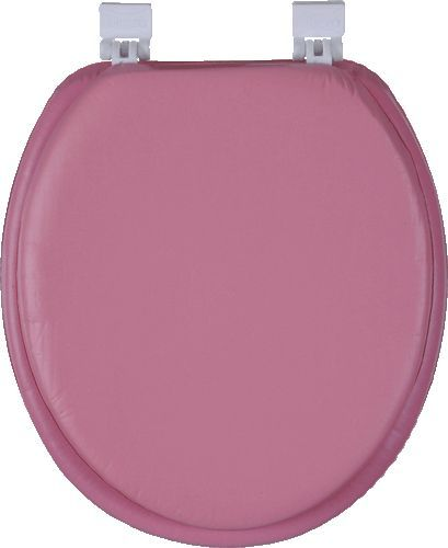 """Сиденье для унитаза мягкое """"Libero"""" розовое"""