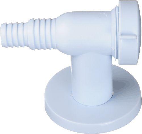 TERMA обратный клапан для стиральной машинки, белый арт.10090