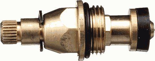 """кран - букса TERMA 3/8"""" с резиновой прокладкой, шлицы 8*20 арт.06619"""