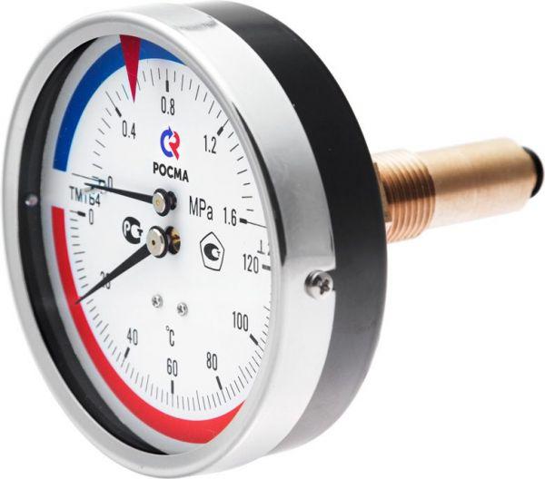 термоманометр ТМТБЗ боковое подключение