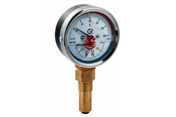 термоманометр ТМТБЗ нижнее подключение