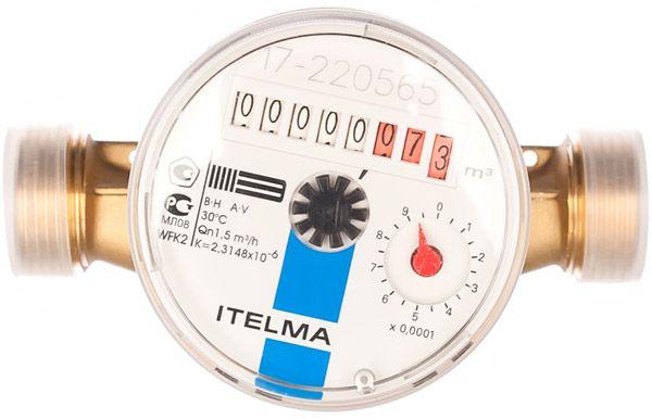 Счетчик холодной воды ITELMA (Ду=15мм, L=110мм)
