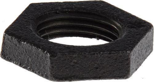 """Контргайка черная стальная Ду 40 (1.1/2"""") арт.027-1461"""